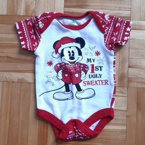 Disney My first ugly sweater